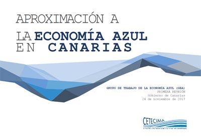 Primera reunión GEA - CETECIMA - Aproximación a la economía azul en Canarias
