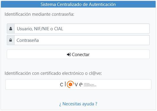 CAS - Servicio Autenticación Centralizada