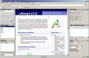 Amaya W3C