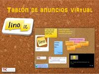 Tablón de anuncios virtual con LINO IT
