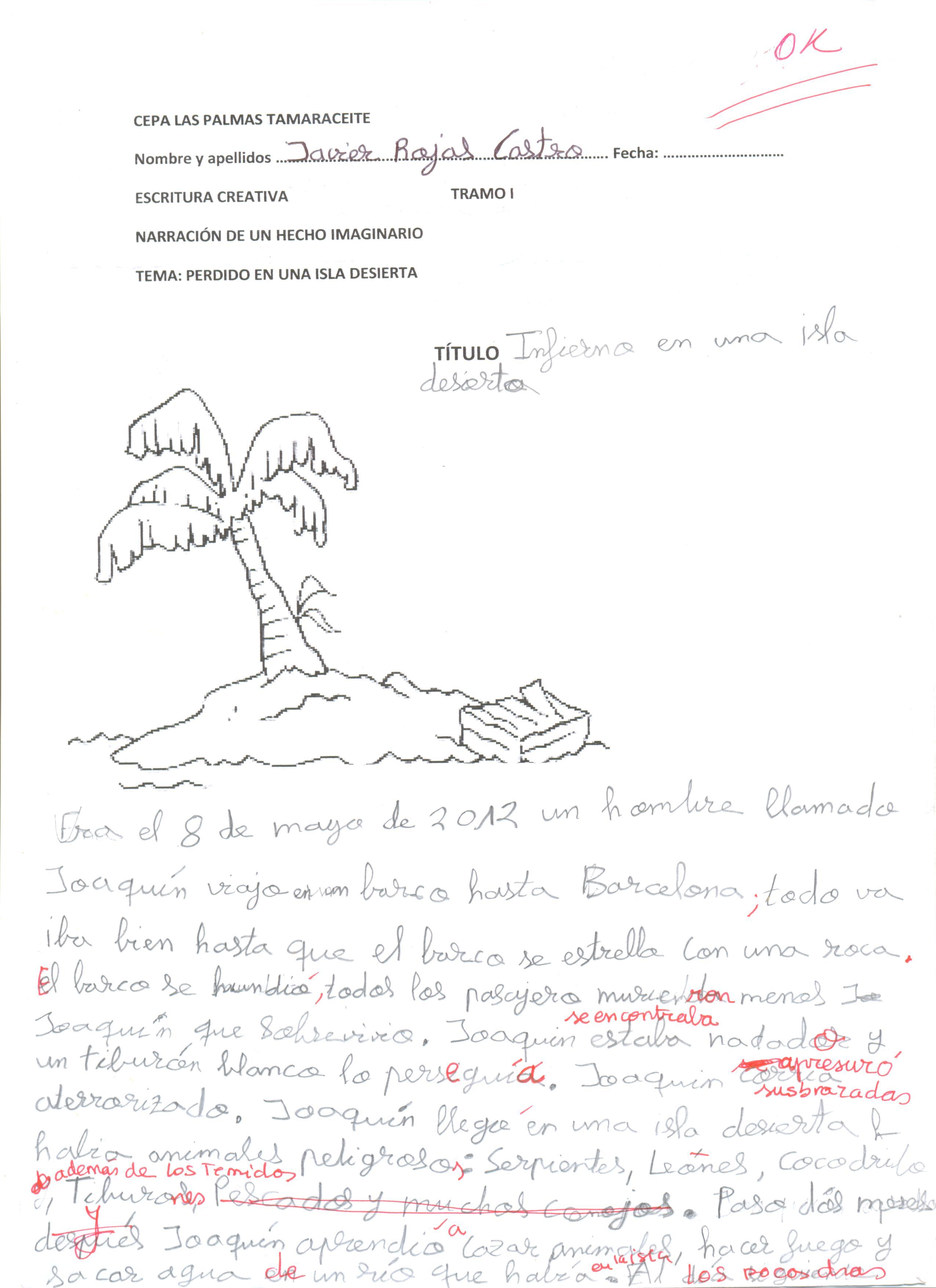 LENGUA: El esquema. Los textos narrativos, ejemplos para el aula ...