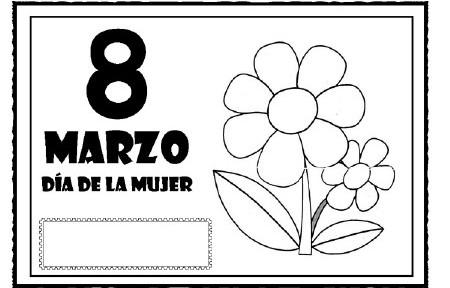 8 Marzo Descarga Tarjeta Y Recursos Blog De Mery Suárez