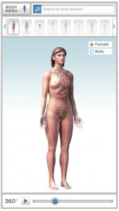 Healthine Body maps