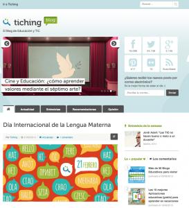Blog Tiching