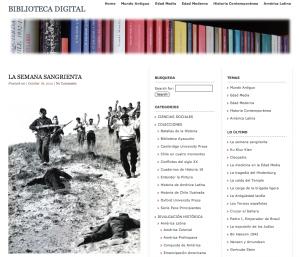 bibloteca digital