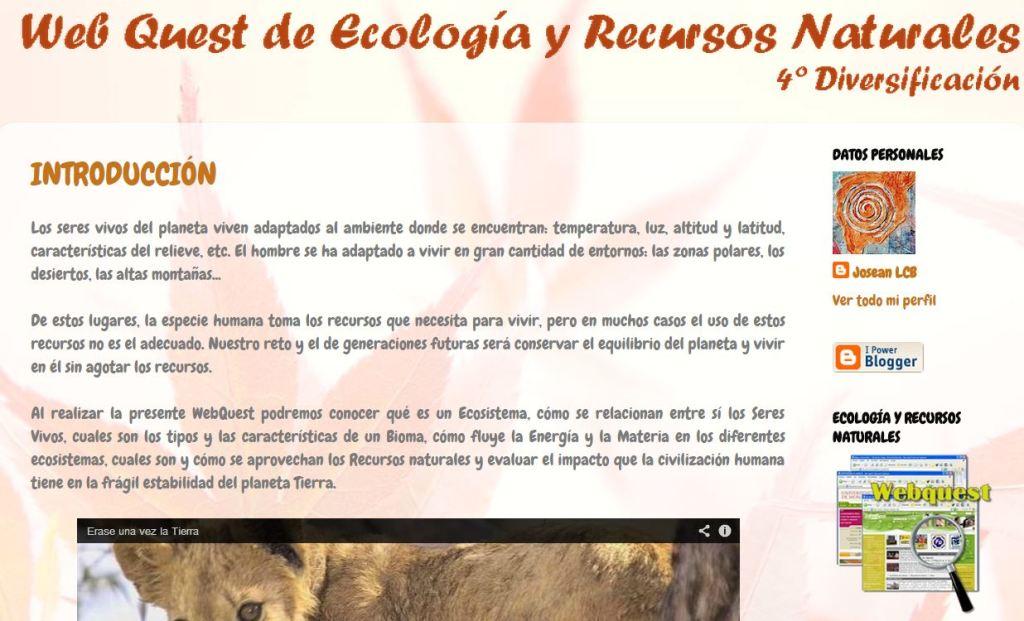 wq Ecología y Recursos Naturales