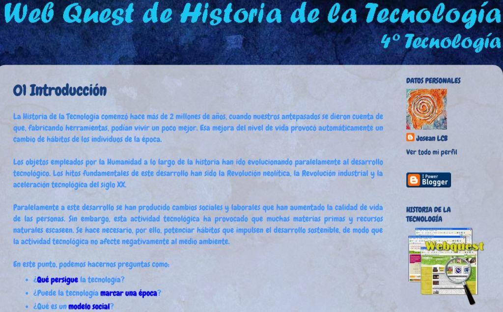 wq Historia de la Tecnología