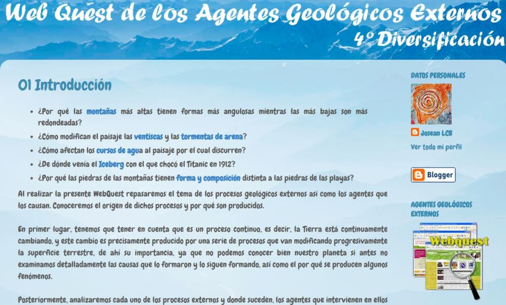 wq Los Agentes Geológicos Externos