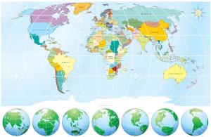 7606251-Detallado-mapa-mundial-con-todos-los-nombres-de-pa-ses-y-capitales-objetos-dibujados-individuales-co-Foto-de-archivo