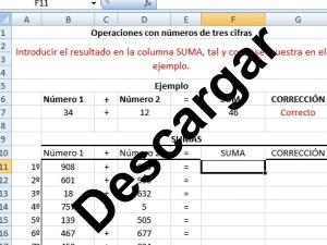 Refuerzo matemático usando la hoja de cálculo para NEAE | TecnoBlogBlas