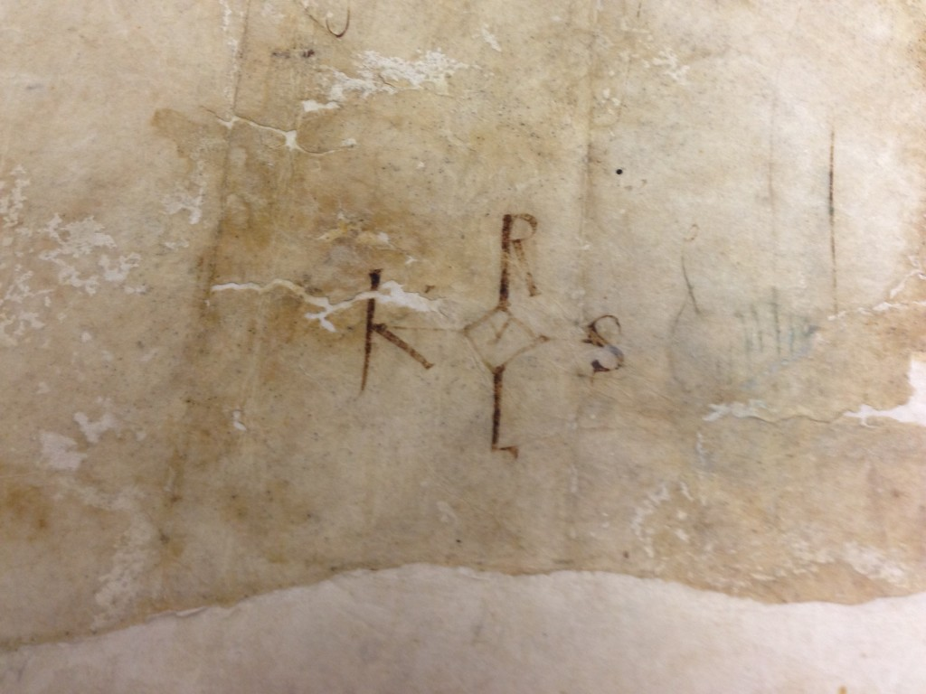 firma de Carlomagno