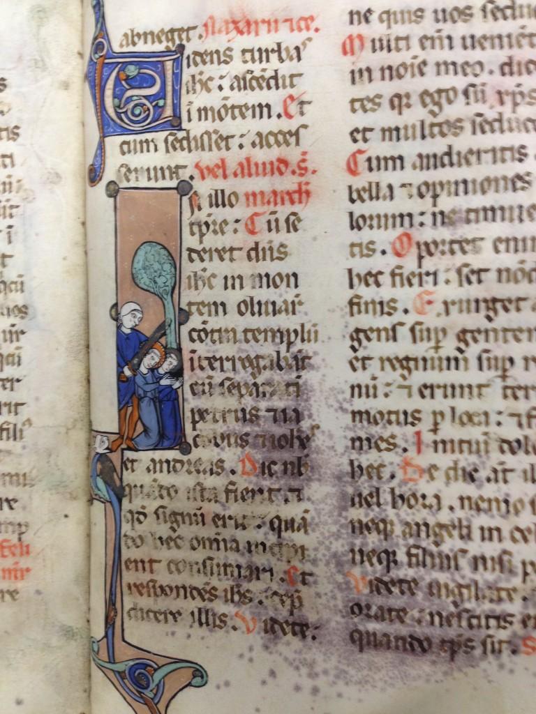 Manuscrito del siglo XII