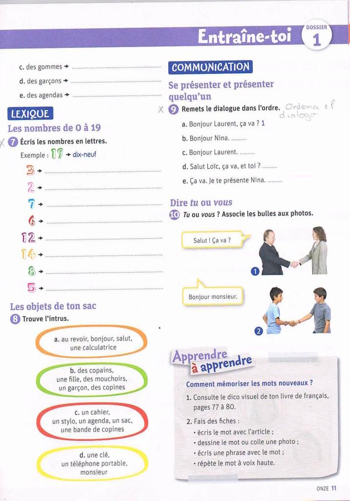 ACTIVITÉS 1ºESO2