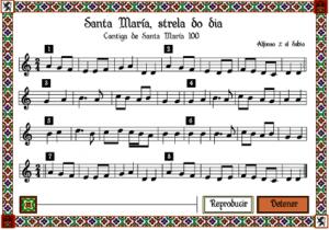 Cantiga Santa María 100