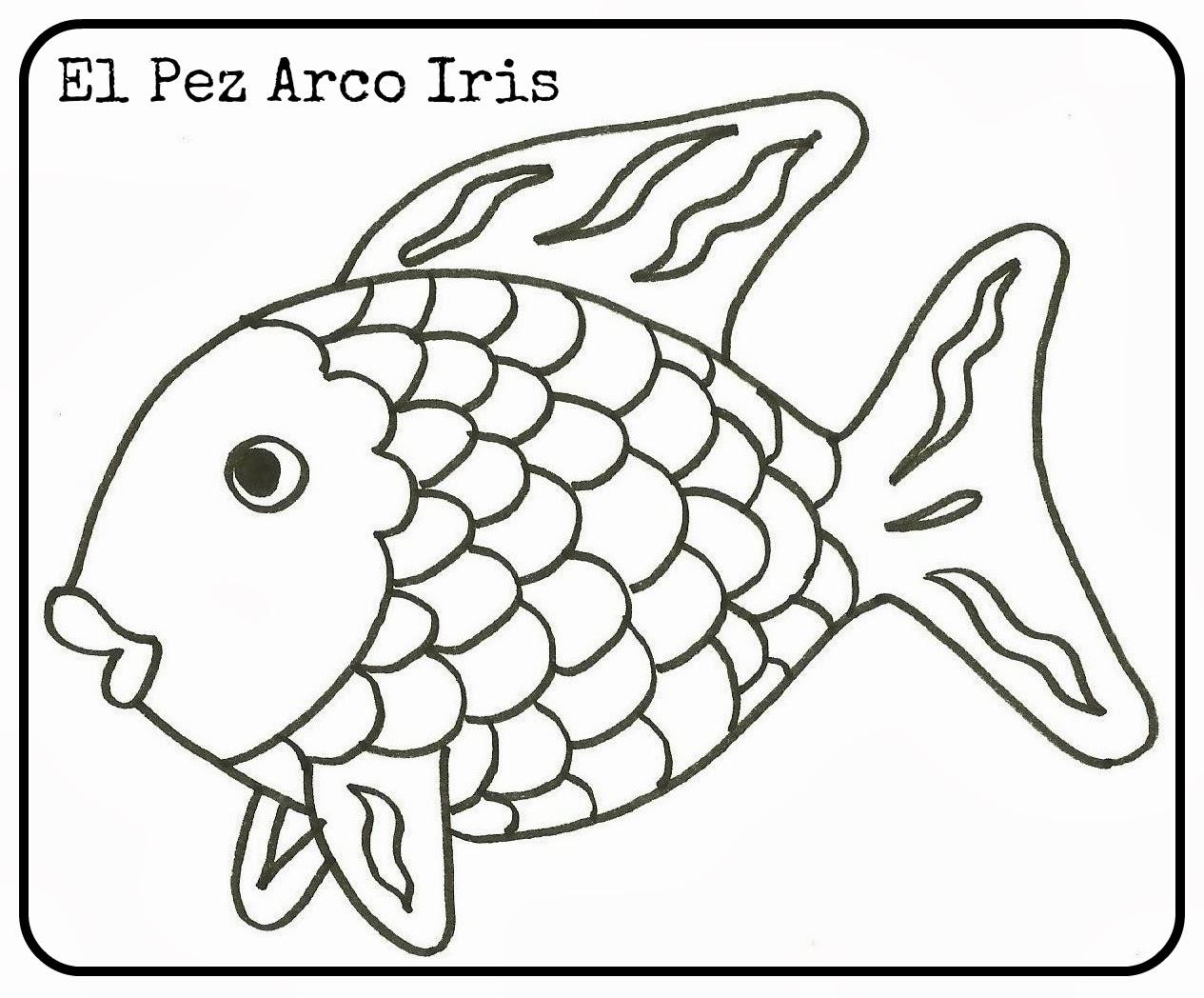 EN EL FONDO DEL MAR : El pez arco iris (Marcus Pfister) – La magia ...