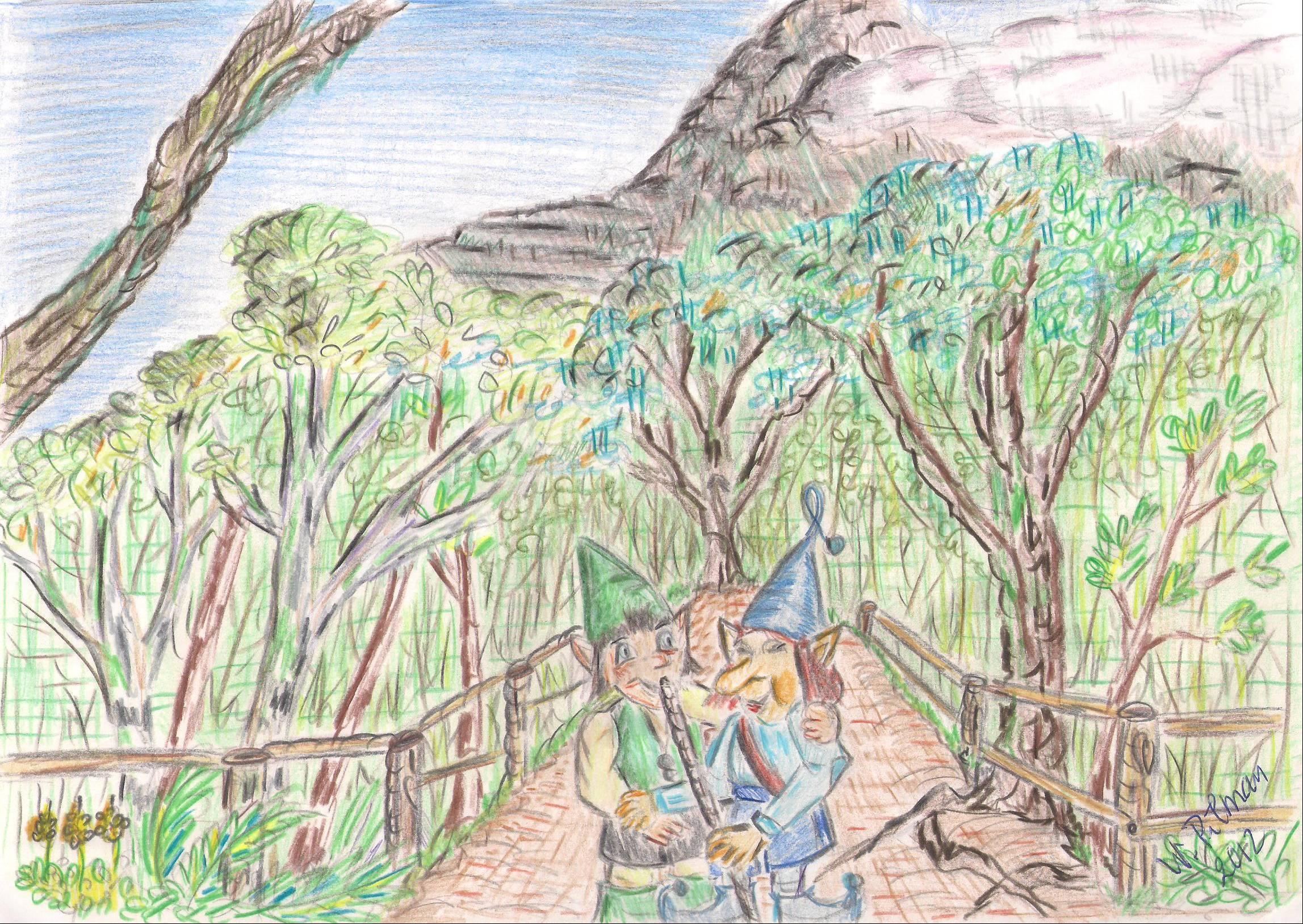33fe713733 Tana estaba emocionado pues siempre había querido visitar el hermoso bosque  de laurisilva con sus hojas siempre verdes y brillantes debido a la  condensación ...