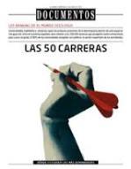 RANKING 50 CARRERAS EL MUNDO 2015 – 2016