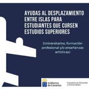 AYUDAS AL TRANSPORTE GOBIERNO DE CANARIAS. ESTUDIOS SUPERIORES