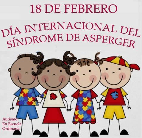 Resultado de imagen de dia internacional del sindrome de asperger