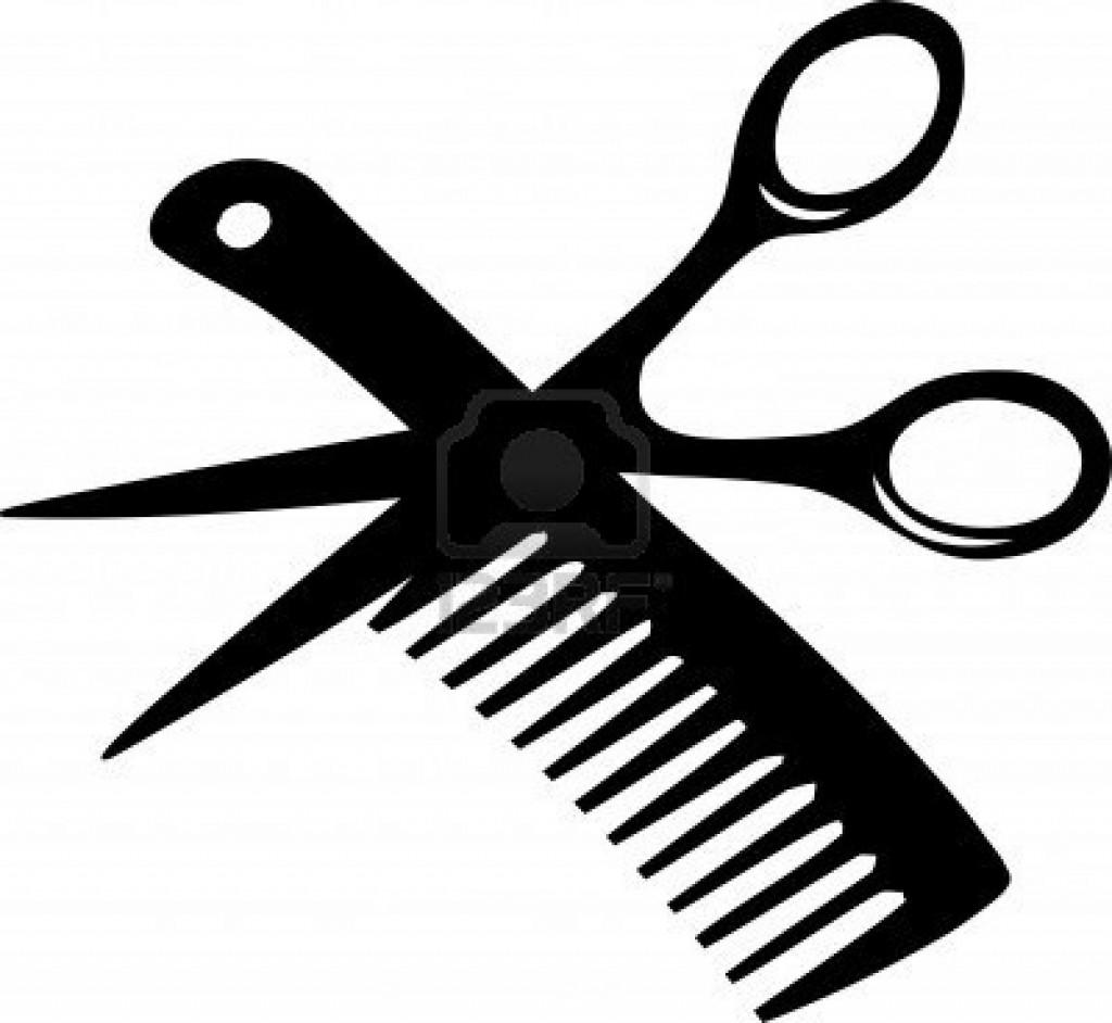 3482702 peluqueria peine y pelu con for Simbolo barbiere