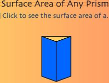 surface area prism