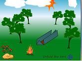 triangular tent