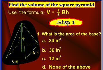 volume pyramid