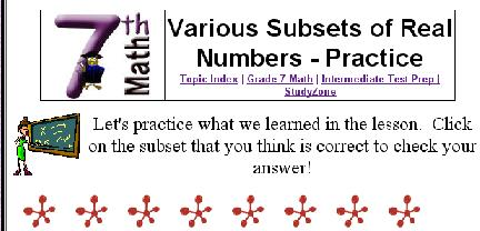 test de numeros