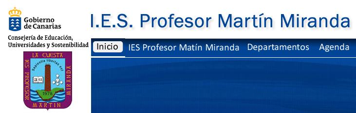 IES PROFESOR MARTIN MIRANDA