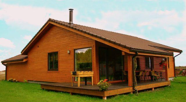 Casa de madera tecnolog a y ciencia - Fotos de casas de campo de madera ...