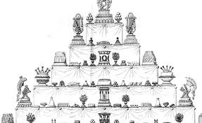 Tarta de boda siglo XVIII