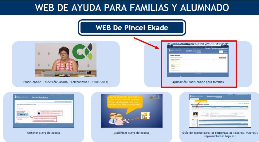 WEB DE AYUDA PARA FAMILIAS Y ALUMNADO