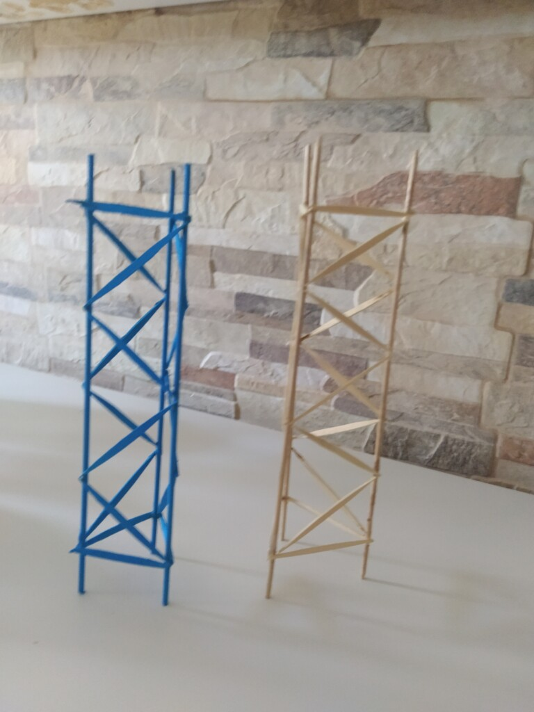 estructura triangulada gabriel