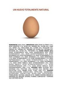 Un huevo rebozante de química