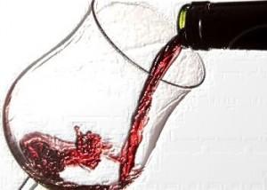 Una copa de vino