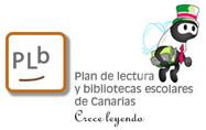 Plan de lectura y bibliotecas escolares de Canarias