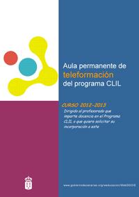 Segunda convocatoria del Aula Permanente de Teleformación del Programa CLIL. Curso 2012-2013