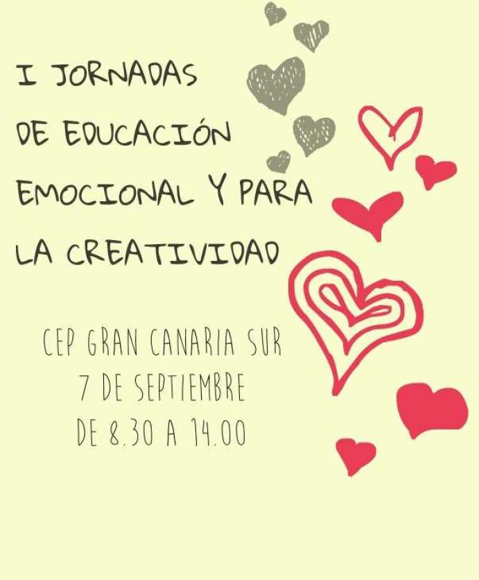 I Jornadas de Educación Emocional y para la Creatividad