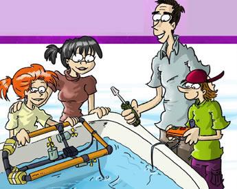 EDUROVS, robótica submarina educativa