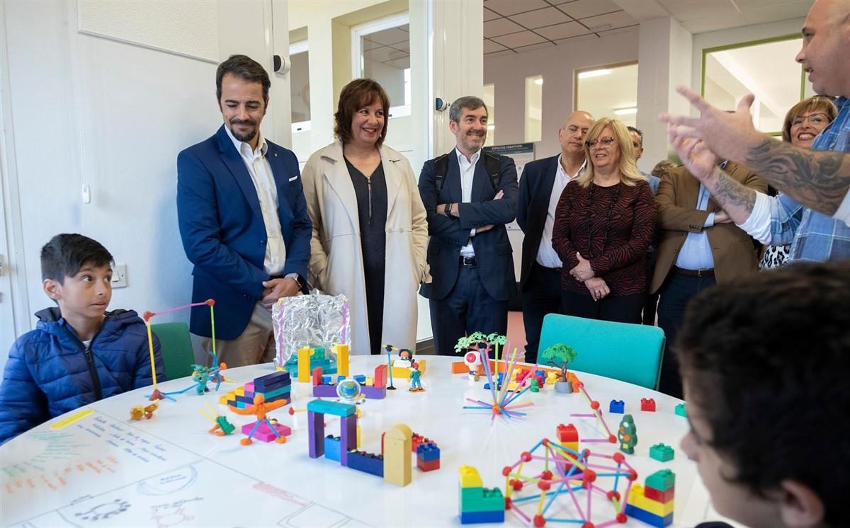 Inauguración del Espacio Creativo, aula del futuro, del Centro del Profesorado La Laguna