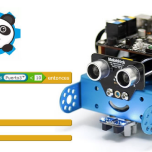 Acción Puntual «Robótica mBot para Secundaria»