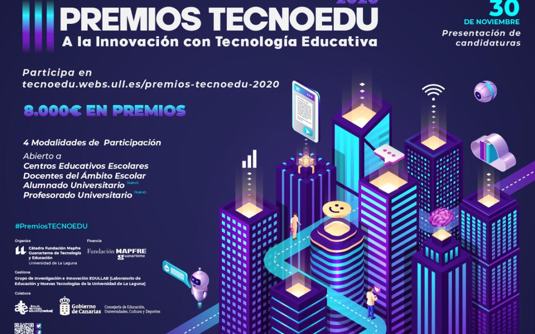 III edición de los premios de innovación educativa TECNOEDU