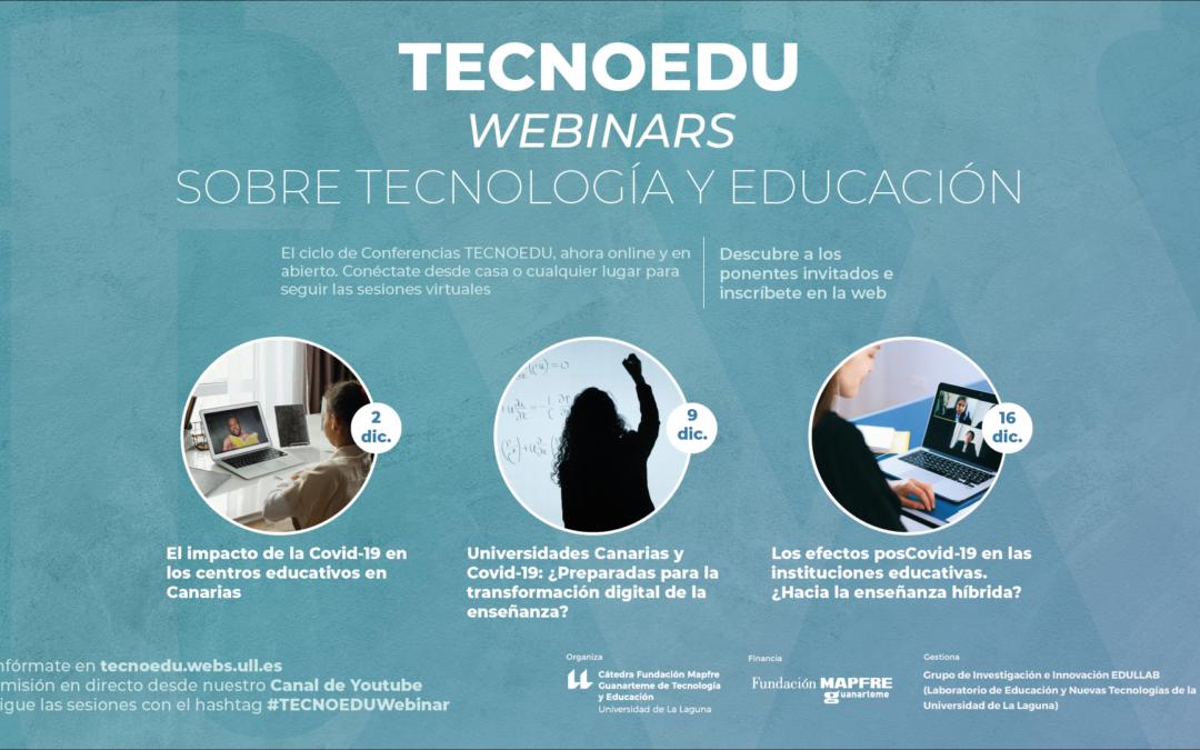 TECNOEDU Webinars en diciembre 2020