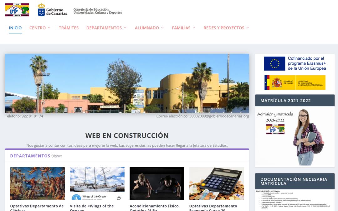 Plugin para webs de los centros educativos (Edublogs)