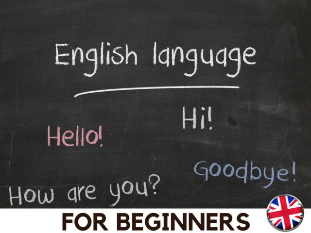 An English course for beginners