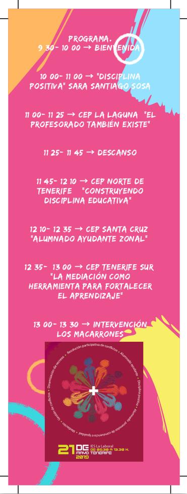 Programa en Tenerife