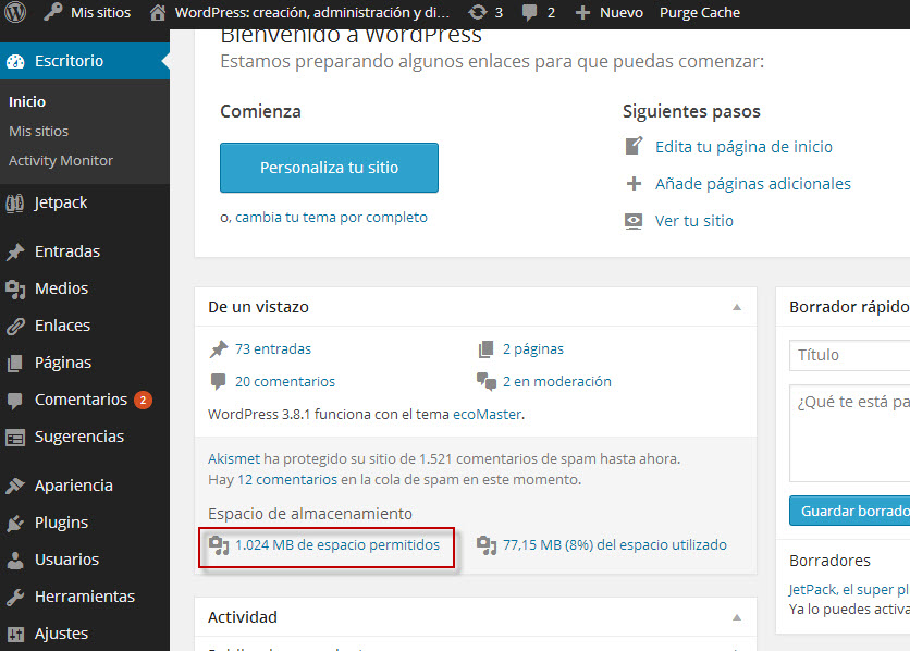 WordPress: creación, administración y dinamización de un blog en ...