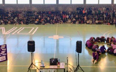 Actos conmemorativos del 25N en el IES El Paso (La Palma)