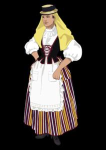 La Indumentaria Tradicional de Canarias desde la Escuela