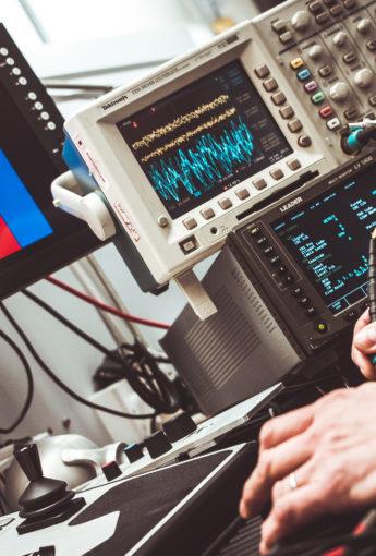 Uso del osciloscopio